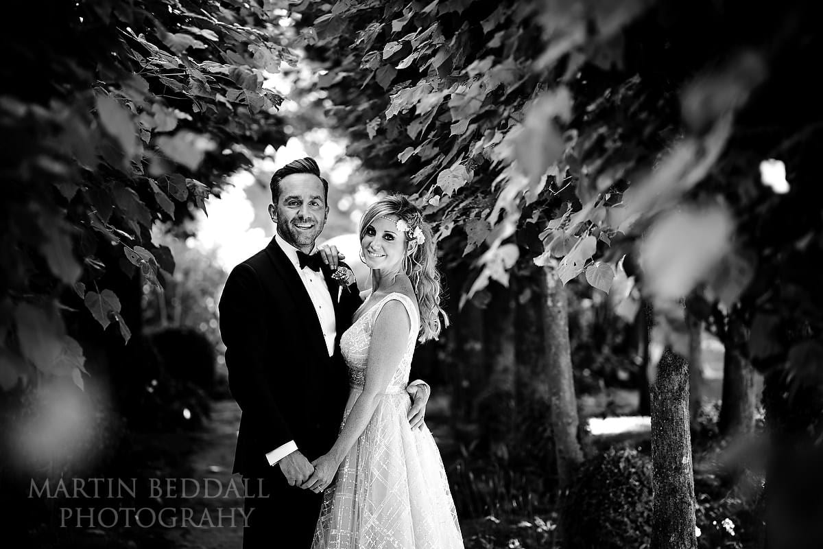 Barnsley House couple portrait