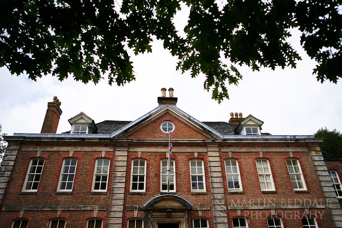 Park House, the registry office in Horsham, West Sussex