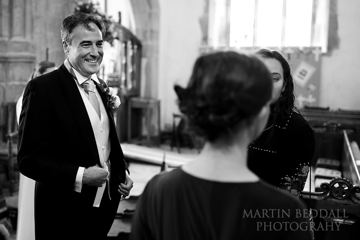 Groom in Ditchling church