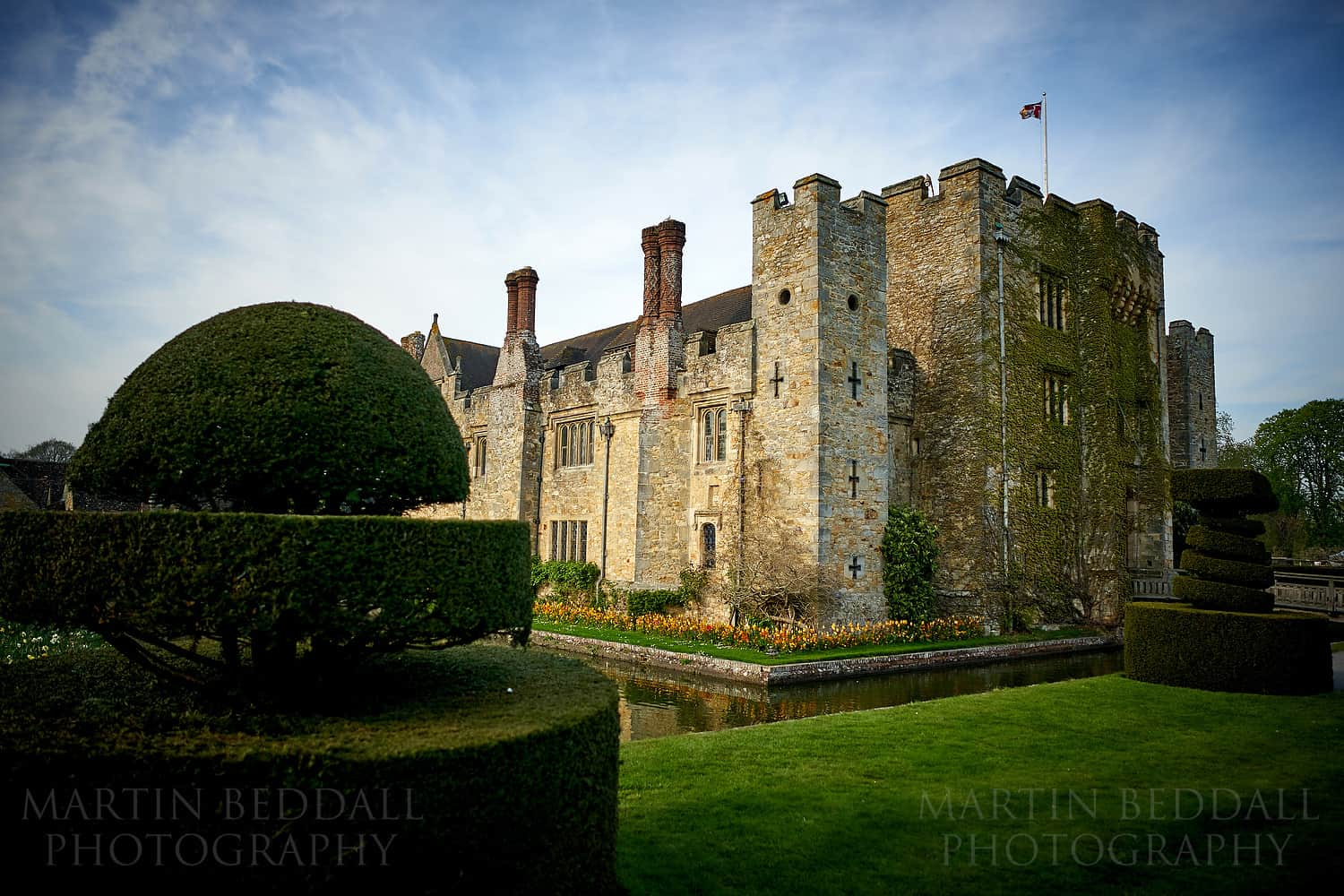 Astor Wing wedding at Hever Castle