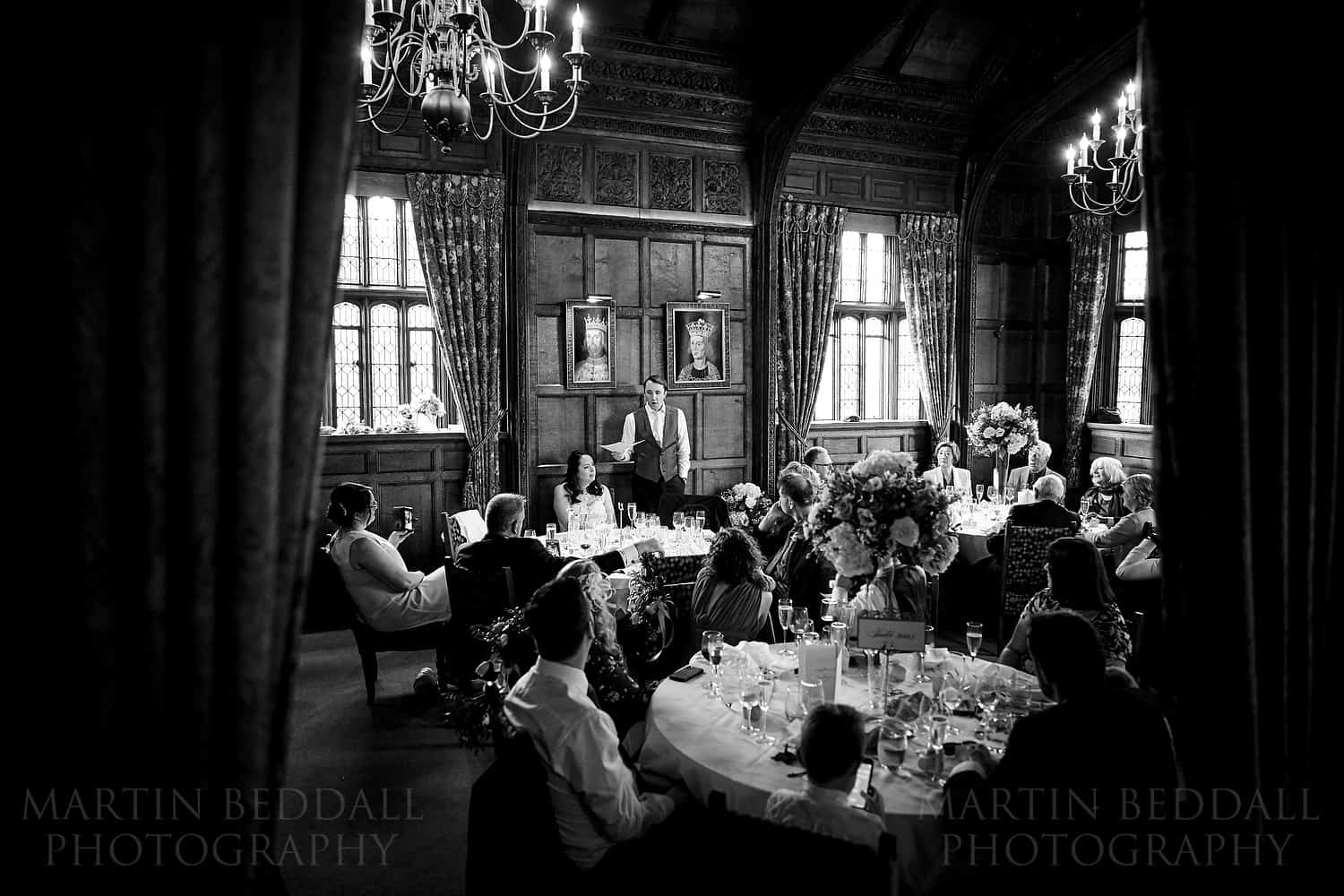 Tudor Suite dining room at Astor Wing