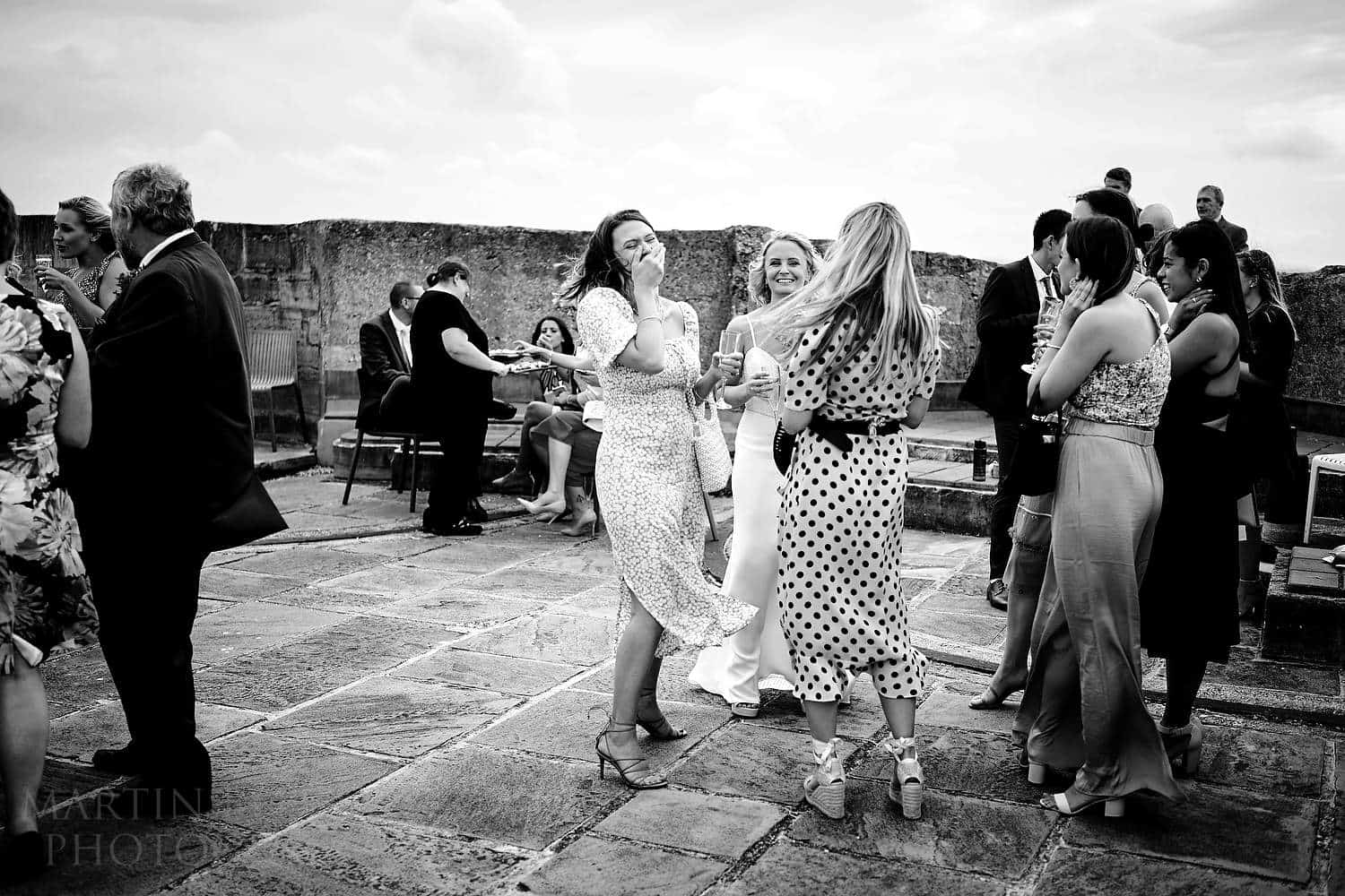Wedding reception at the Square Tower in Portsmouth
