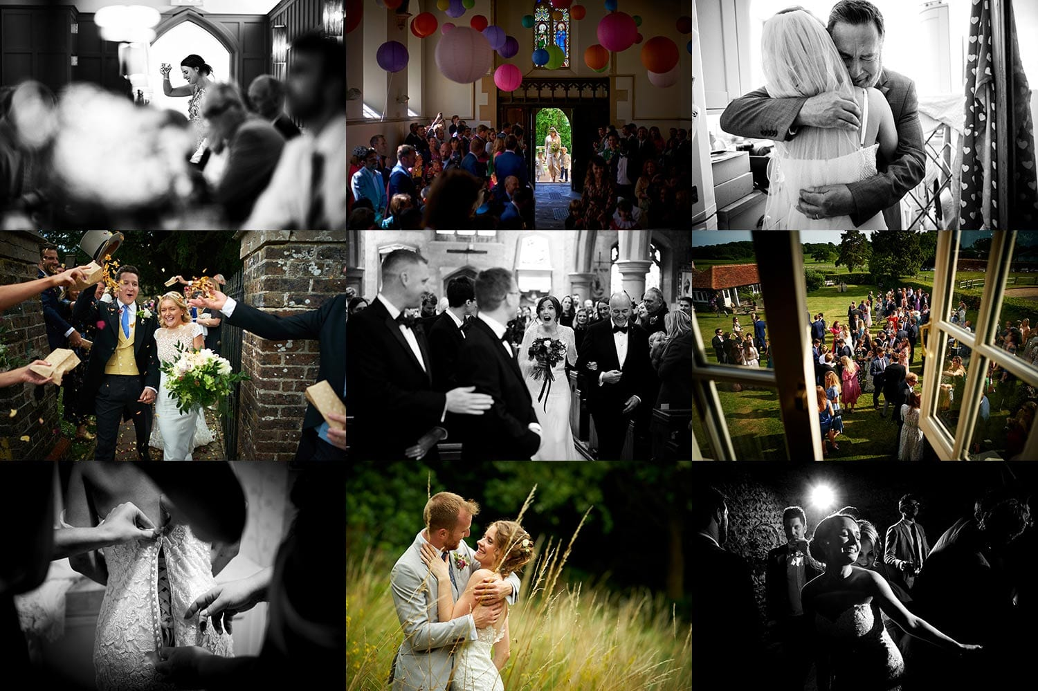 2019 a selection of reportage wedding images