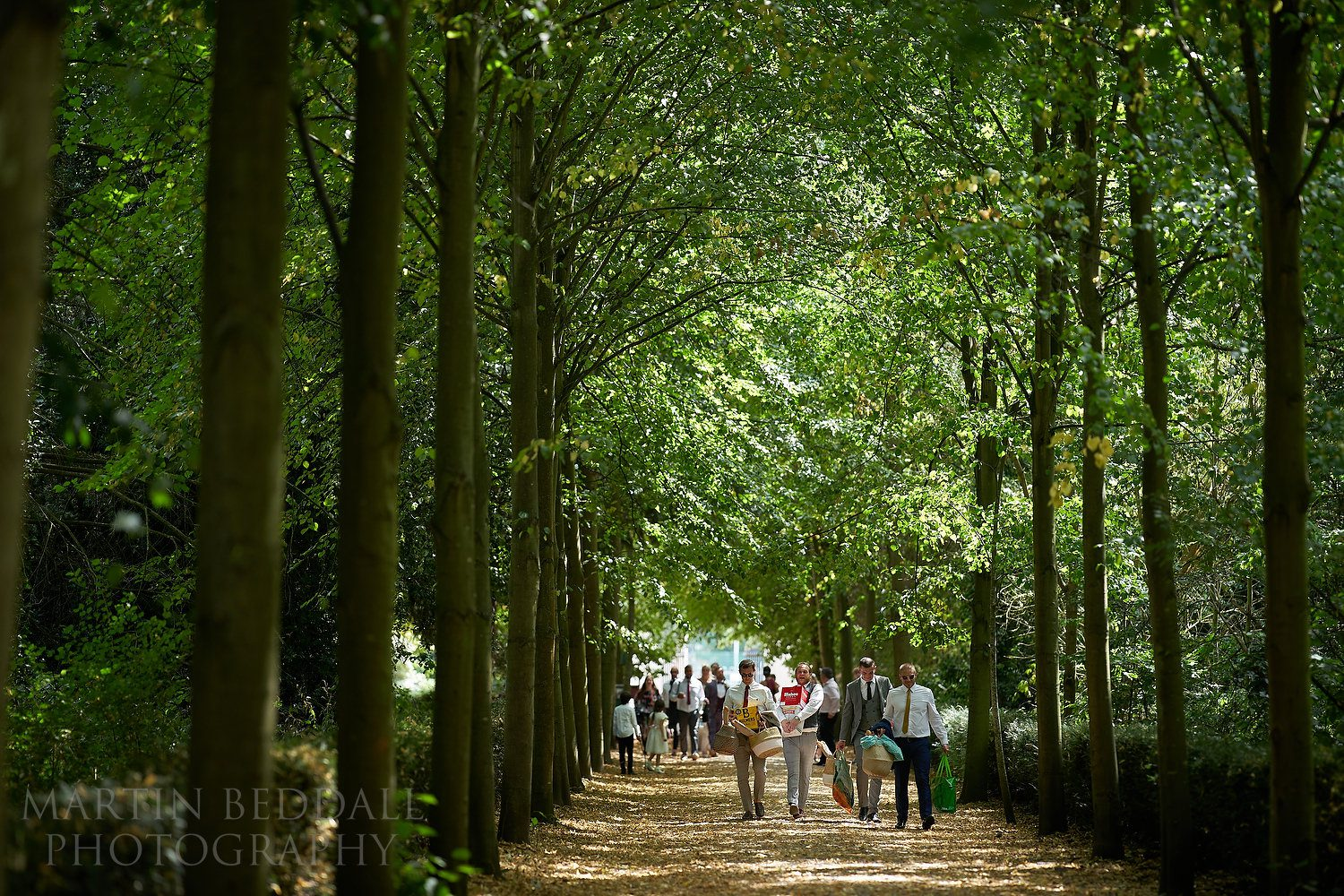 Heading to the picnic area in the grounds of Chiswick House