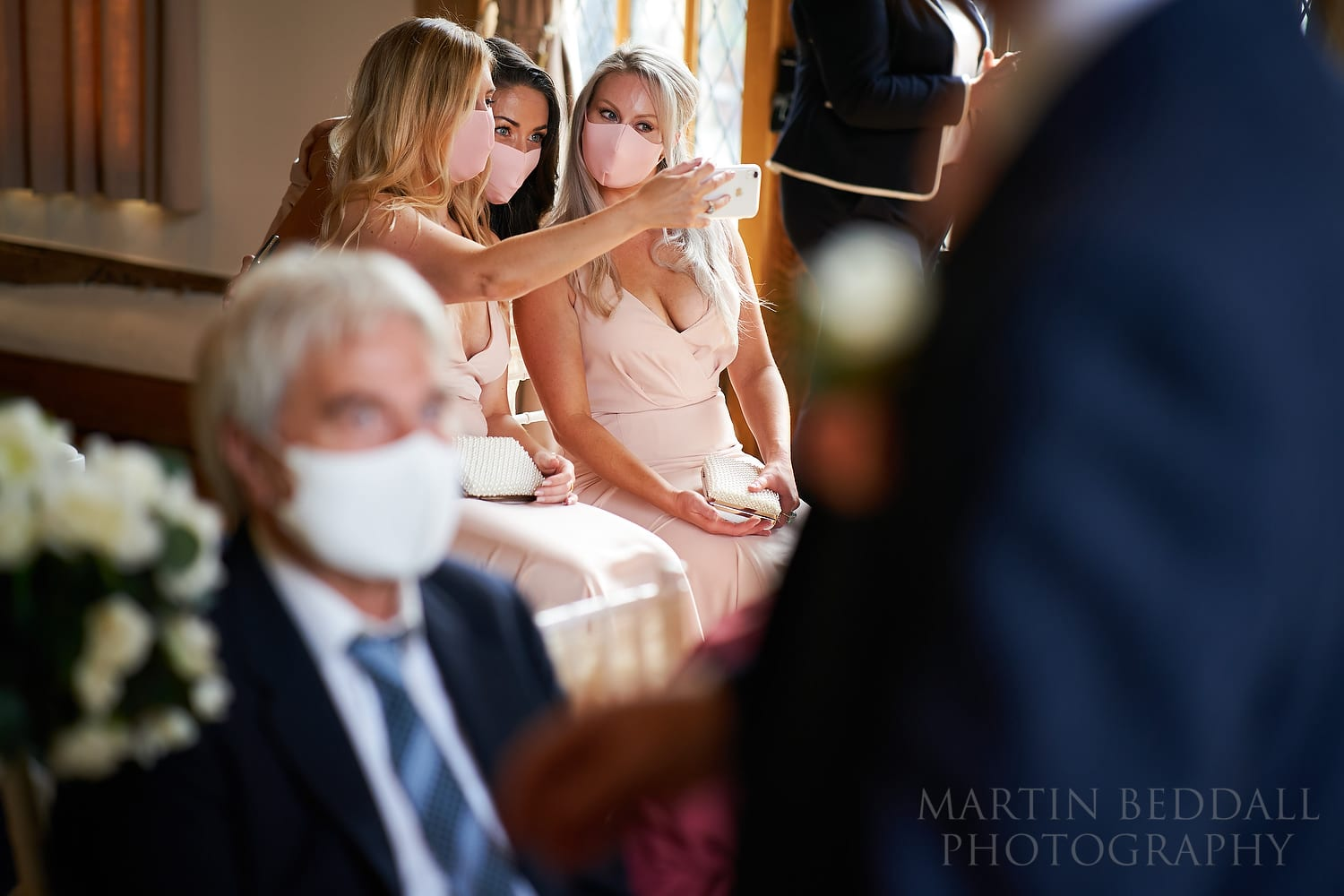 Weddings in 2020 Facemasks at Cain Manor