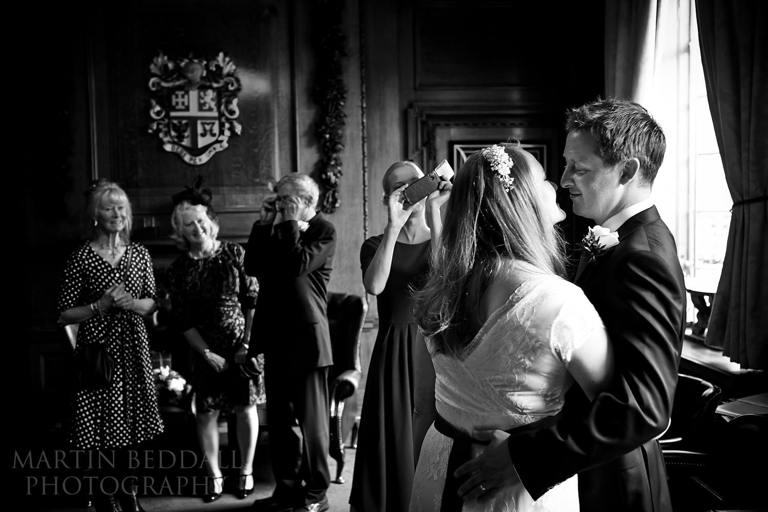 After the wedding ceremony at the Mayor's Parlour at Islington Town Hall