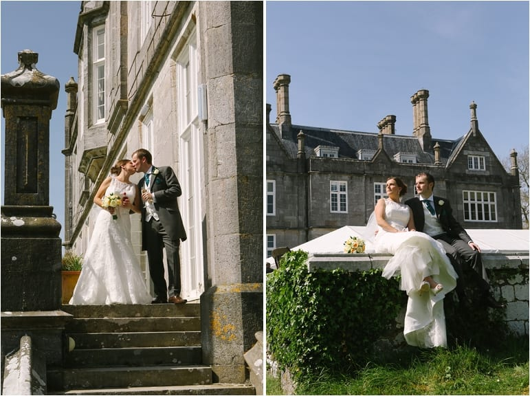 Marquee weddings at Kitley House.