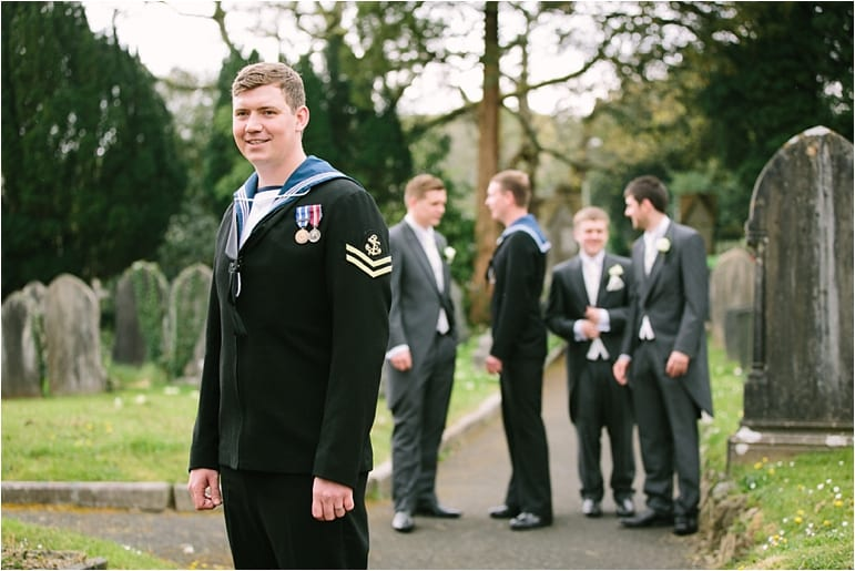 Arm forces wedding by Younger