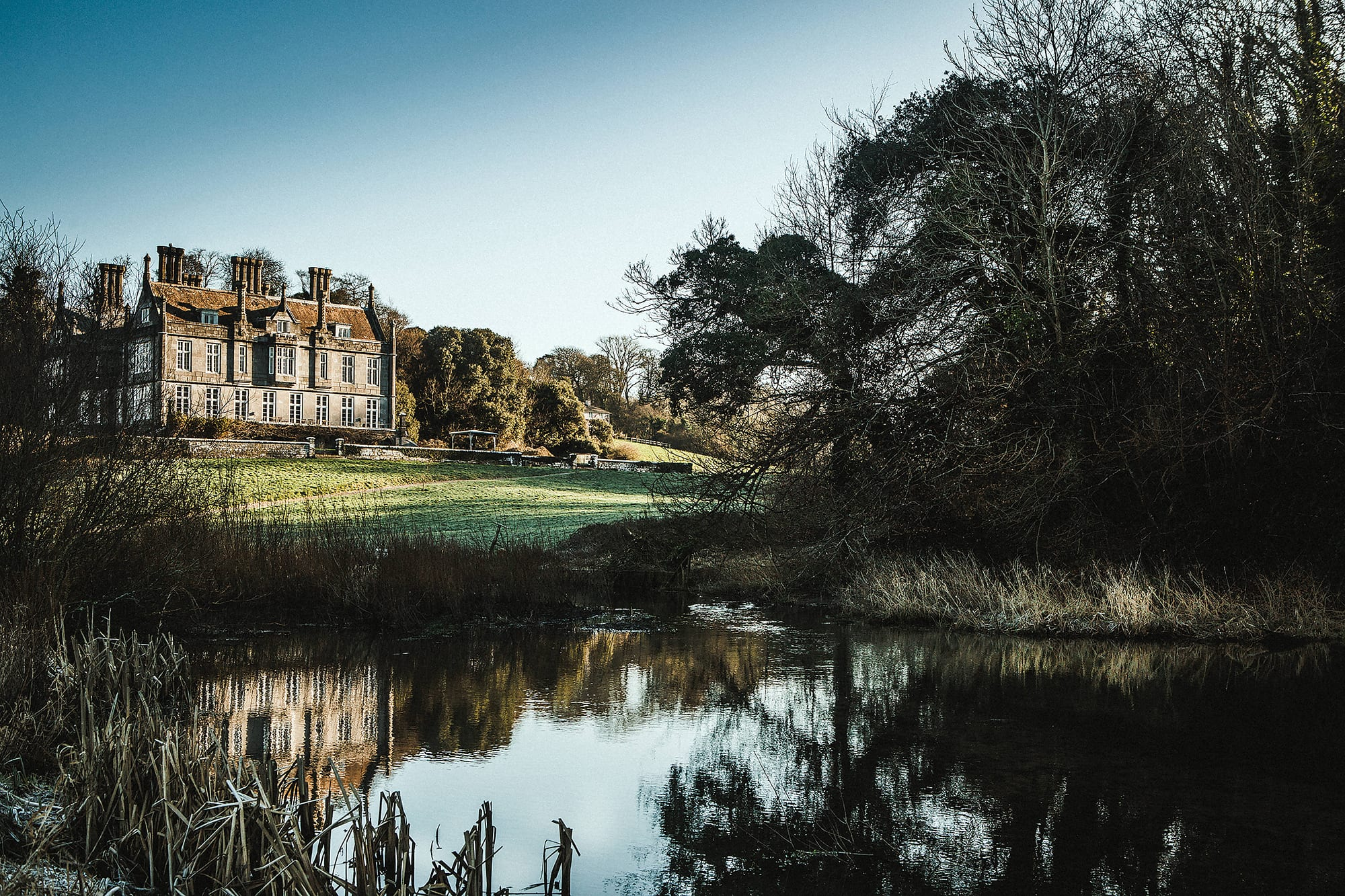 Kitley house and country estate wedding photography