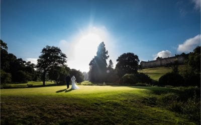 Magnificent Bovey Castle wedding