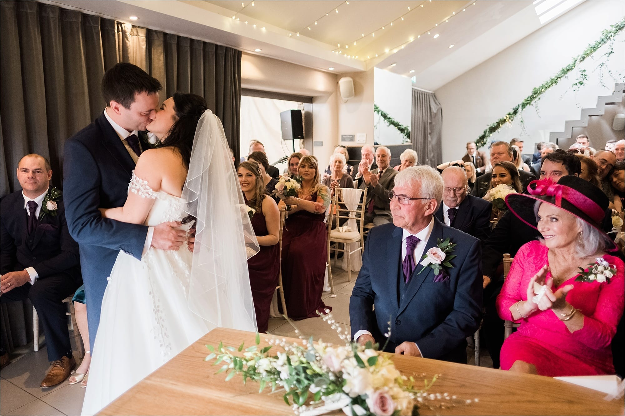 Younger photography photograph a beautiful wedding at Trevenna barns in Cornwall